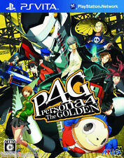 Used PS Vita Persona 4 Golden SONY PLAYSTATION JAPANESE IMPORT