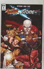 IDW COMICS STREET FIGHTER GI JOE #1 FEBRUARY 2016 1ST PRINT NM