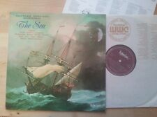 The Sea - Sarah Walker Thomas Allen Roger Vignoles LP A66165 Hyperion