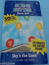 Graduation - Sky's the Limit Room Roll, 50 feet long decorates a whole room!