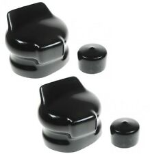 7 PIN TOWING ELECTRICS PLUG & SOCKET COVERS X2