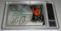 2005 X-Files Connections Pieceworks Show Worn Autograph GILLIAN ANDERSON Scully