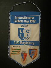 Wimpel 18 1.FC Magdeburg IFC Gruppe 2 DDR Oberliga 1987
