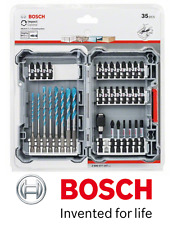 Bosch Impact Control Range 35Pc MultiConstruct & Screwdriver Bit Set NEW IMPACT
