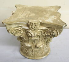 Corinthian Greek Roman Column Art Table Top Pedestal Riser Sculpture 33055