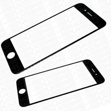 "OEM Original Apple iPhone 6 4.7"" Replacement Outer Front Glass Panel Black"