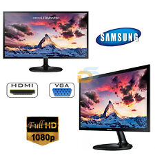 "MONITOR 22"" LED SAMSUNG FULL HD CON HDMI VGA 22 POLLICI ATTACCO VESA PC DESKTOP"