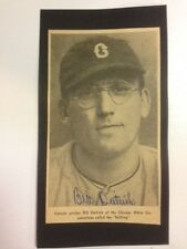 Bill Dietrich Signed Vintage Picture Autograph Chicago White Sox 1910-1978 COA