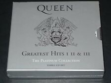 Greatest Hits: I II & III: The Platinum Collection by Queen 3CD