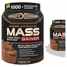 Super Mass Gainer Chocolate Weight Nutrition Muscle Mass Gain BCAA Whey Protein
