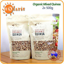 1Kg Chef's Choice Certified Organic 3-Mix Quinoa Tri-Color Superfood 有机三色藜麦澳洲直邮