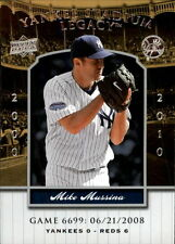 2008 Upper Deck Yankee Stadium Legacy Collection #6699 Mike Mussina   New York