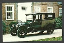 PICTURE POST CARD OF 1916 PACKARD TWIN 6 LIMO BY BREWSTER CLASSIC CAR, MINT