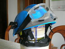China CAPF Firefighter Rescue Helmet and Protective Glasses,F2 Type,Set,New.