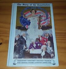 The Story of the Constitution by Sol Bloom Signed W Letter from Frank C Kniffen