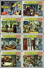 THE MUMMY HAMMER Complete Set Of 8 Individual 11x14 LC Prints 1959