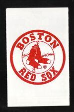 1992 Boston Red Sox Schedule--WBSM