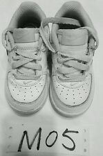 Nike air force 1 low white 314194-117  size 6c. Toddler