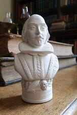 Piccolo GESSO sculture di Shakespeare 12cm HAND MADE British BUSTO SCULTURA