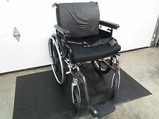 "Sunrise Medical adult Breezy Ultra 4 Wheelchair 18 X 18"" Seat Width very nice"