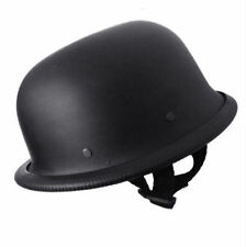 Hind German for Royal Enfiled Open Face Bullet Cap/ Helmet Black Matt