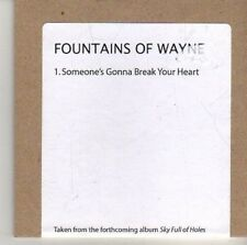 (CV37) Fountains Of Wayne, Someone's Gonna Break Your Heart - 2011 DJ CD