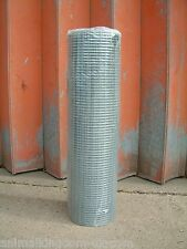 "Weld Mesh Wire 36"" x 1"" x 1/2"" x 19g x 6m Dog Run Poultry Fencing"