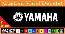 Yamaha Drum motorcycle PWC Waverunner Guitar Forks vinyl decal Sticker 6""