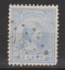 NVPH Netherlands Nederland 35 TOP CANCEL SNEEK (99) Wilhelmina 1891