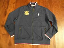 NWT POLO RALPH LAUREN BIG PONY BLACKWATCH SWEATER JACKET SZ XL