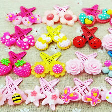Vente en gros 20pcs Mix Styles assortis Baby Kids Girls HairPin Pince à cheveux