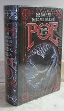 THE COMPLETE TALES AND POEMS by EDGAR ALLAN POE- LEATHERBOUND & BRAND NEW!
