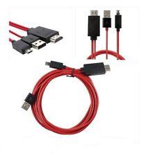 MHL Micro USB a HDMI HDTV Adaptador De Cable Para Galaxy s3,s4 y nota 2-