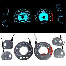 INDIGLO GLOW GAUGE DASH FACE EL CLUSTER FOR TOYOTA SUPRA TURBO 86-89 MPH