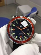 Seiko SKX007 Custom.Orange 3-6-9 dial,hands and bezel insert.Bubble sapphire.
