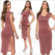 NEW SEXY 3/4 CASUAL STRETCH DRESS XS S M L online RIB DRESSES BEACH summer wear