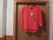 3/4 Sleeve Blouses GAP Reg,size 2XL,XL,LG,MD Ivory ,Gray,Navy,Orange NWT