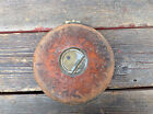The Lufkin Rule Co. 50 Ft. Saginaw Mich - Leather Bound Metallic Tape Measure