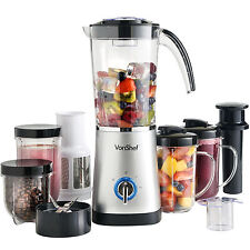 Vonshef mixeur multifonction food mixer silver smoothie maker broyeur centrifugeuse