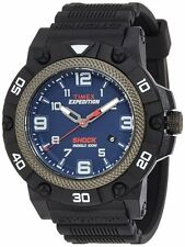 Timex TW4B01100 Men's Indiglo Expedition Field Shock Resin Band Blue Dial Watch