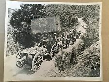 ww2 photo press  China . Burma road , way to the fighting at Lungling 1945   A10