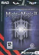 MIGHT AND MAGIC IX - Might & Magic 9 - Vintage Role Playing RPG PC Game - NEW!