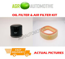 PETROL SERVICE KIT OIL AIR FILTER FOR RENAULT MEGANE SCENIC 1.4 75 BHP 1996-99