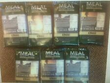 XMRE Huge Lot Of 7 MRE's Meals Entreé Only Ready To Eat Military Grade Prepper