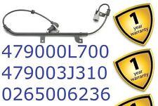Nissan Primera 1.6 1.8 2.0 1996-02 Rear Right ABS Sensor 479003J310 0265006236