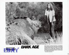 Nikki Coghill w/monster VINTAGE Photo Dark Age