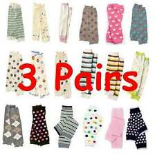 Leg Warmers Baby Leggings Toddler U-Pick Lot of 3 Pairs Socks NEW