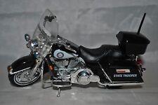 Maisto 1/18 Diecast Harley Davidson Motorcycle Florida State Trooper