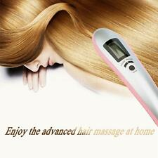 ELECTRIC INFRARED HAIR MASSAGE BRUSH LASER-POWER GROW COMB LCD DISPLAY G6Y0