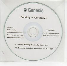 (GG920) Electricity In Our Homes, Aching, Breaking, Shaking For You - DJ CD